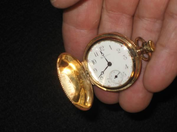 Antique Rare Dueber Hampden Pocket Watch