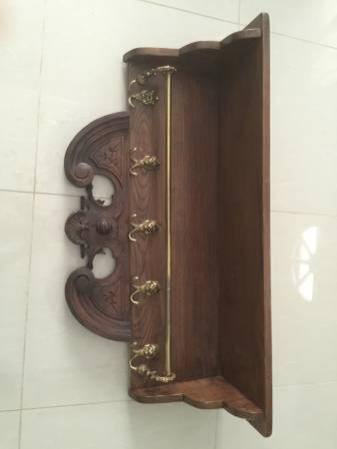 Antique 1800's German Coat Rack