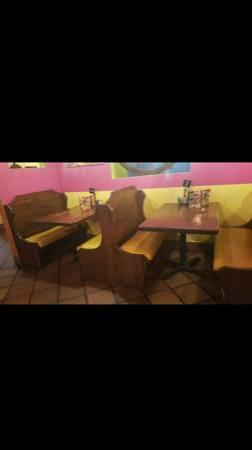 Restaurants booths for sale