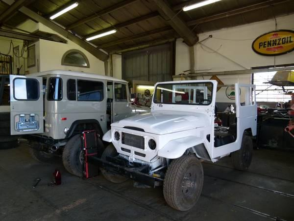 WANTED OLD TOYOTA LAND CRUISERS