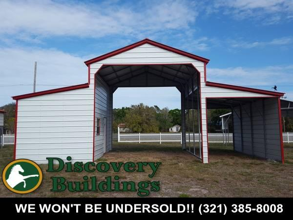 Carport - Horse Barn - Garage - RV Port - Metal Building