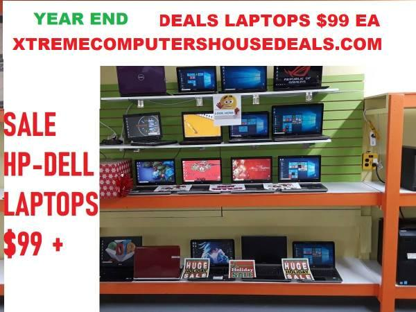 END OF THE YEAR SPECIALS -CLEARANCE+LIQUIDATION /I5 LAPTOPS $99
