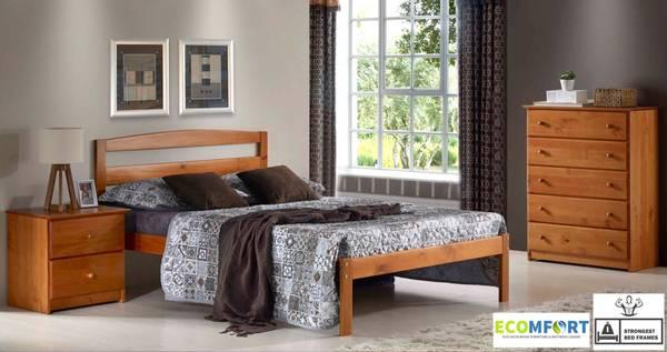 SOLID WOOD PLATFORM BED! INCLUDING SHIPPING! TWIN, FULL, AND QUEEN!
