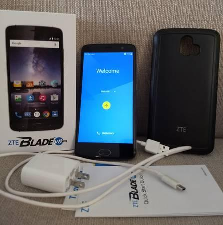 32GB ZTE Blade V8 Pro Unlocked Dual SIM Android Smartphone, In Box