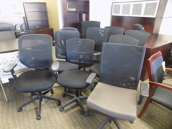 Cleaning House Clearance SALE black Mesh Assorted chairs $69 to $169