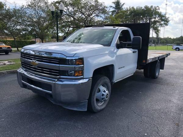 2015 CHEVROLET SILVERADO 3500HD WORK TRUCK CLEAN TITLE LOW MILES
