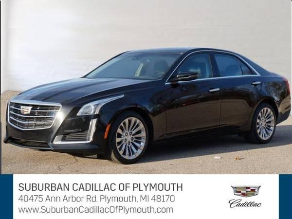2016 Cadillac CTS  sedan 2.0L Turbo Luxury - Cadillac Black