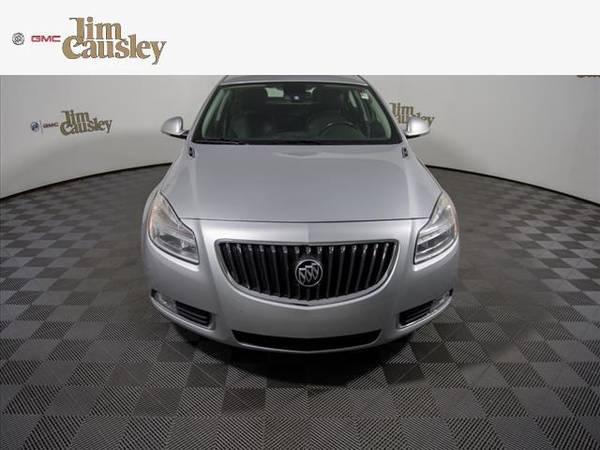 2013 Buick Regal  sedan Premium 1 - Buick Silver