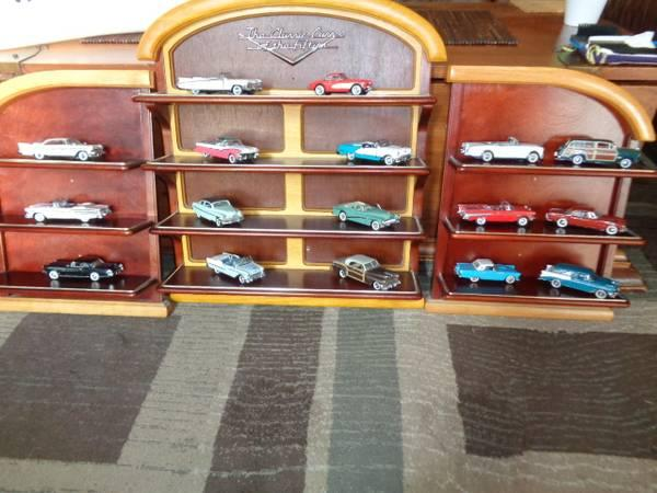 FRANKLIN MINT CLASSIC CARS OF THE 50s