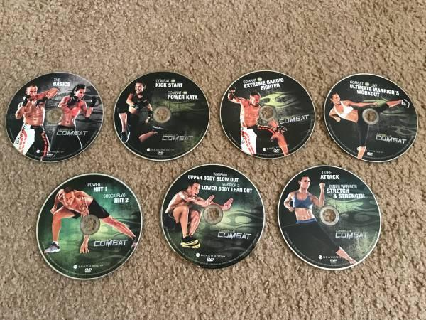 Les Mills Combat by Beachbody - 7 DVD Set with Books