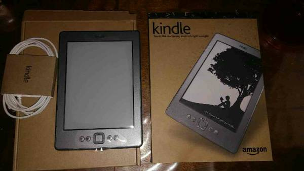 kindle tablet reader used twice in oringal box