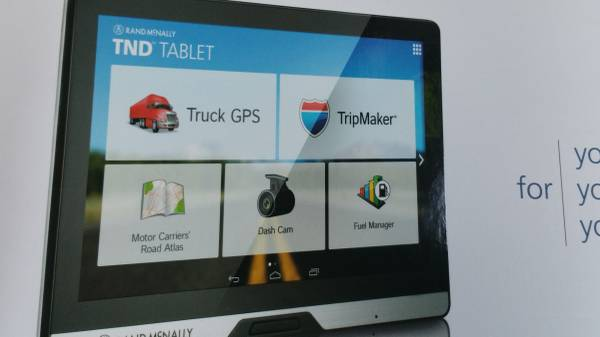 gps tablet for truck 8inches
