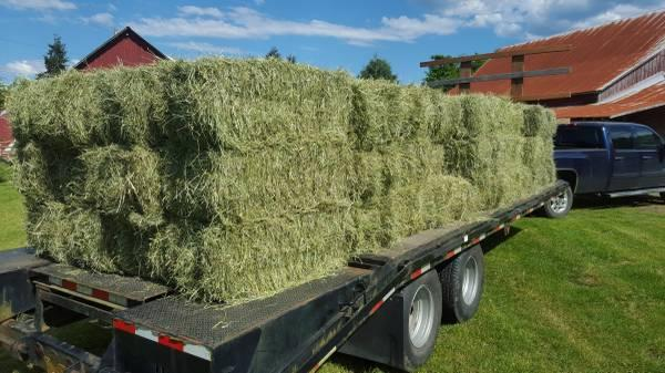 2018 Orchard mix, and local grass hay starting at  $5.50