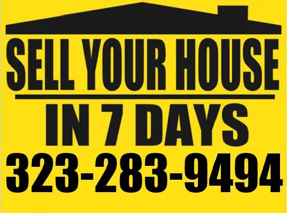★★Sell your house TODAY!