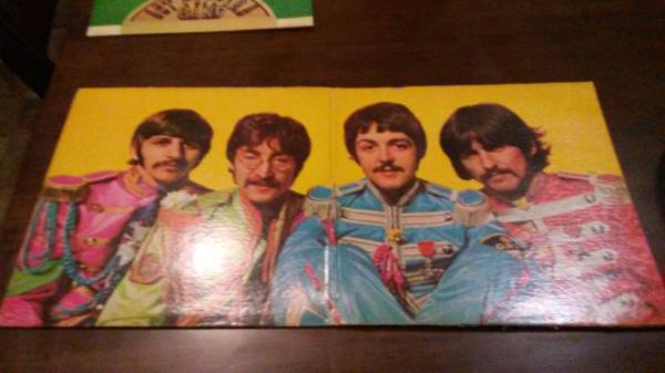 Sgt Peppers Lonely Hearts club band LP