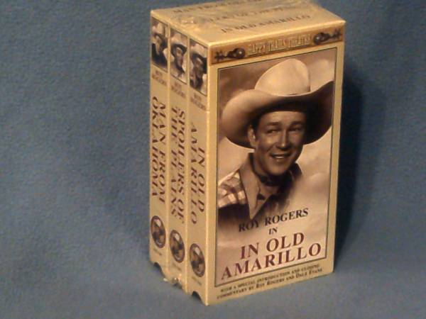 Roy Rogers 3 VHS Set Brand New Sealed