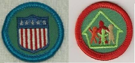Girl Guide and Girl Scout Badges, Patches, Pins