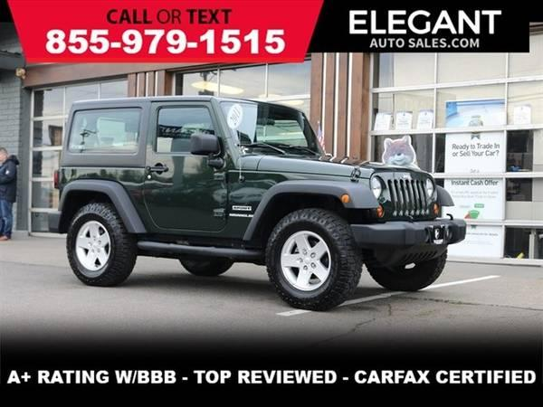 2011 Jeep Wrangler Sport 4X4 - LOW MILES HARDTOP SUV 4WD