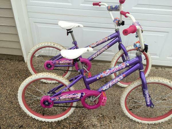 Girls 20 inch bicycles for sale