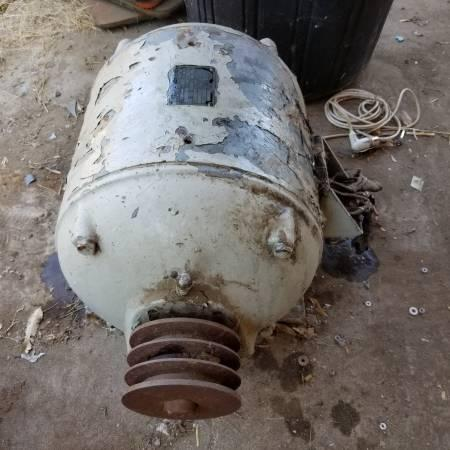 5 HP 3 Phase Lima Electric Motor