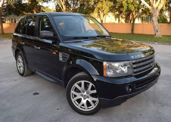 2006 Land Rover Range Rover leather interior