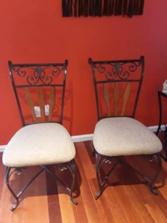 Ashley Brown Color Set of 2 Dining Chairs Ashley Dining Room Furniture