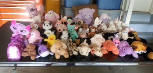 Adorable Assorted Stuffed Animals