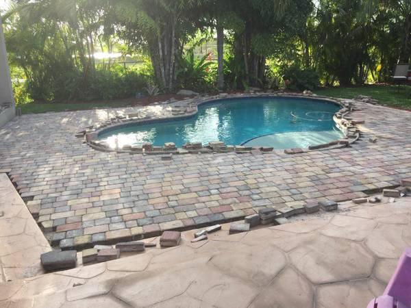 Free pavers installations estimate!!!