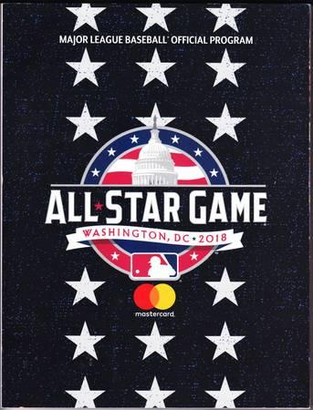 2018 MLB ALL-STAR GAME Program & other years