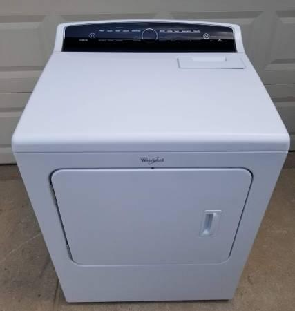 WHITE WHIRLPOOL CABRIO STEAM  ELECTRIC DRYER / 7.0 CU.FT.