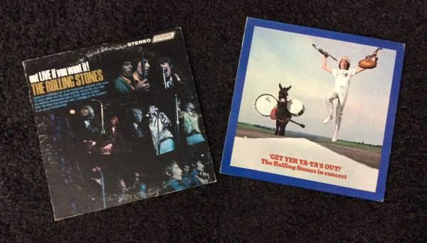 The Rolling Stones LP Records, Got live if you want it, get yer ya ya
