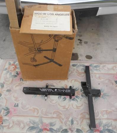 VINTAGE VETTA ITALIAN MADE INDOOR BIKE TRAINER NEW IN BOX