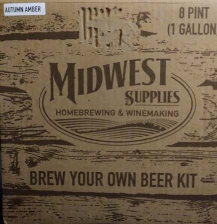 Midwest Amber Ale Homebrew Brew Your Own Beer Kit