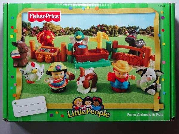 Fisher-Price Little People Farm Animals & Pals in original box