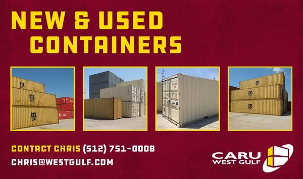 SHIPPING / STORAGE CONTAINERS FOR SALE AND RENT