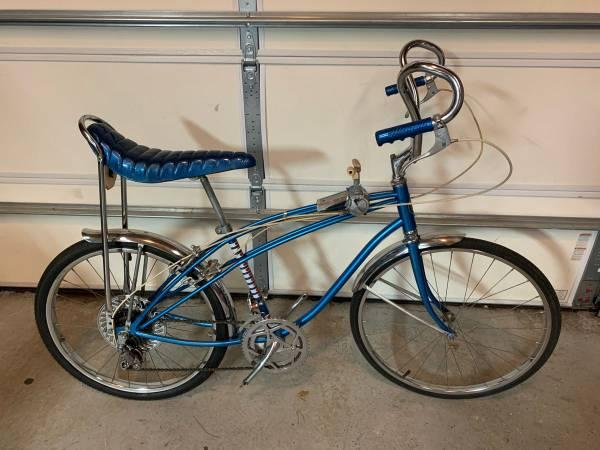 "1968 Sears Spider 24"" Rams Horn 10 Speed Muscle Bike"